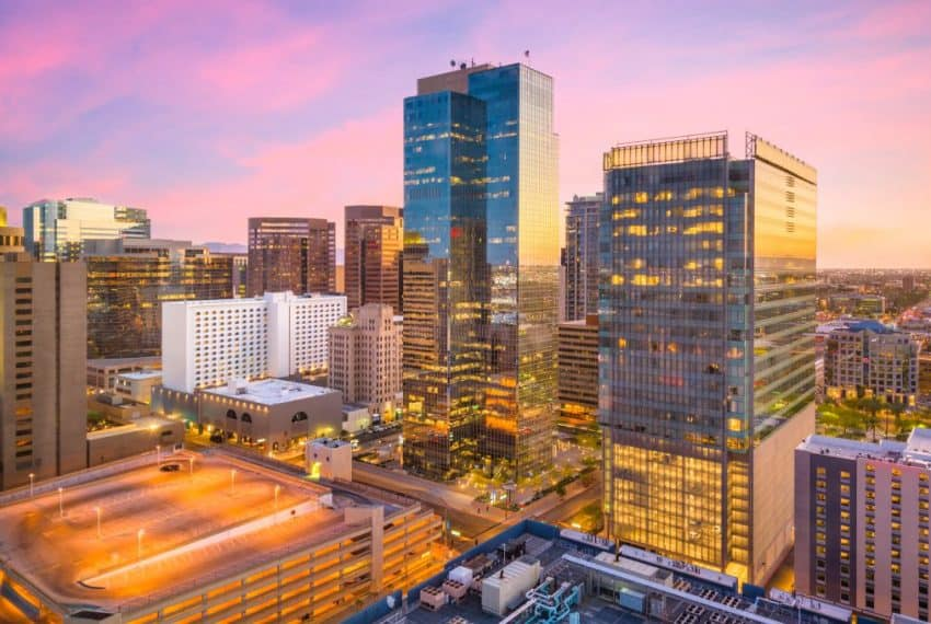 Phoenix_Arizona_USA_cityscape_in_downtown_at_sunset_terrenosnaflorida-com_shutterstock_1073156576_1200x680